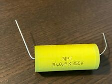 New Mpt Film Capacitors For Crossovers 33 4 47 5 68 82 10 15 18 20 22 25 Uf