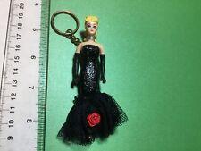 """Vintage Mattel 1995 Barbie Keychain """"Solo In The Spotlight Barbie 1960"""""""