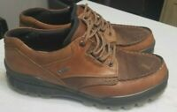 ECCO Men's TRACK 25 Low Shoe Bison Waterproof GoreTex Hiker Size 10