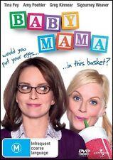 BABY MAMA Tina FEY Amy POEHLER Greg KINNEAR Sigourney WEAVER Romantic Comedy DVD