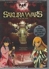 Sakura Wars: The Movie (DVD, 2003, Standard Edition) Promotional version