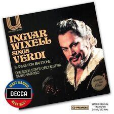 INGVAR WIXELL - INGVAR WIXELL SINGS VERDI (DMWR)  CD NEU VERDI,GIUSEPPE
