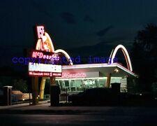 McDonalds Ray Kroc first Restaurant -Museum Des Plaines Illinois Color 8x10 A