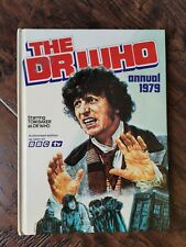 The Dr Who Annual 1979 Starring Tom Baker vintage Doctor Who Book