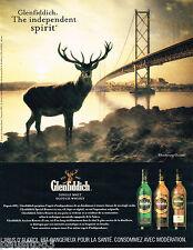 PUBLICITE ADVERTISING 065  2004  GLENFIDDICH  whisky  THE INDEPENDANT SPIRIT