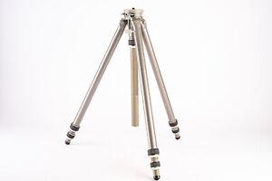 Vintage Gitzo Cremaillere 1 Super 8 Camera Tripod with Geared Center Column V13