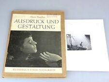 Silbergelatine Foto Marta Hoepffner + Buch: Ausdruck und Gestaltung 1947  rs060