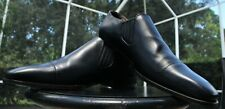GUCCI MANS VITELLO MIDNIGHT BLUE LEATHER LOAFERS GUCCI SHOES SIZE 7 D