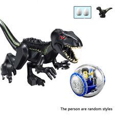 Jurassic World Indoraptor Dinosaurier Figur Bausteine Spielzeug mit Gyrosphere