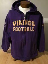 Men's Minnesota Vikings Authentic Pro Line Hoodie - Size 'L'