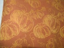 Fall Tablecloth Pumpkin Patch Damask Jacquard Thanksgiving 54x74 rectangle