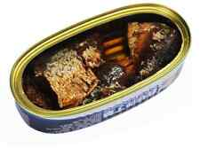 Canned sardines 12 cans total net weight 1440 grams (120gX12 tins)