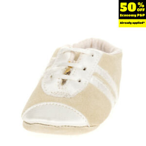 SIMONETTA TINY Kids Leather Sneakers EU 17 UK 1 US 2 Two Tone Made in Italy