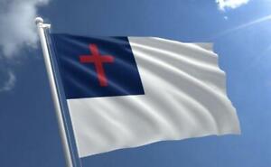Christian 3' x 5' Flag Religious Jesus Faith Christ Cross House Garden Church A6