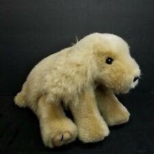"Ty Puppy Dog Tan Brown Golden Floppy 10"" Long Plush Stuffed Animal"