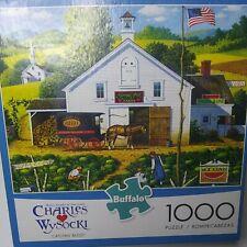 "Buffalo Puzzles"" Charles Wysoki""-""Catching Bugs""#91400. 1000 Piece Puzzle"