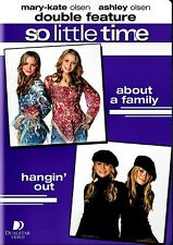 NEW 2DVD- SO LITTLE TIME - MARY KATE & ASHLEY OLSEN - ABOUT A FAMILY + HANGIN OU