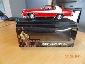 1:18 scale die cast metal Starsky & Hutch Ford Gran Torino car