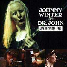 Johnny Winter with Dr John Live in Sweden 1987 New Vinyl