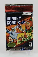 2002 Nintendo e-Reader Donkey Kong 3 Pack 5 Card Set NES