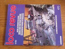 $$$ Loco Revue N°470 Maquettes en boisFausses voiesVitrages serigraphie
