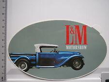 Aufkleber Sticker L&M Zigaretten Oldtimer Tabak Motorschau Vintage (6602)