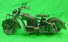 Custom Hand Made Metal Motorcycle Bike Model Figurine