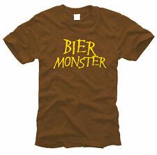 Cerveza monstruo-caballeros-t-shirt, talla s hasta XXL