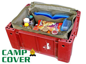 Camp Cover - Camping Kitchen Organiser Deluxe  - Khaki Ripstop - CCB005-A