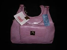 NINE WEST Mauve Handbag Purse with Matching Cosmetic & Cell Phone Case - NWT!