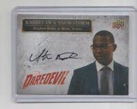 Daredevil Seasons 1 & 2 Autograph Trading Card #SS-BT Stephen Rider (B)