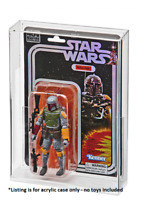 """1 x ACRYLIC CASE for Star Wars 40th /SDCC Boba Fett Exclusive Black Series 6"""""""