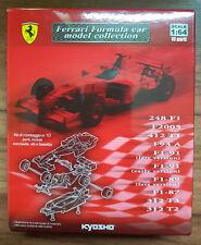 Kyosho Ferrari Fórmula Coche Modelo Colección Escala 1:64 Kit (Lucky Dip)