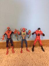 Spider-Man,Spider-Man w/Armor & Tarantula Hasbro Marvel Legends (Lot of 3) 2008