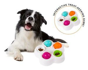 Spinning Puzzle Treat-Seeking Dog Game Interactive Toy Puppy Pet Slow-Feeder