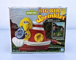 NOS Vtg Hasbro 1983 Big Bird's S.S. Sprinkle Toy Kids Water Sprinkler Muppets