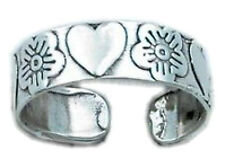 Adjustable Orchids Toe Ring Sterling Silver 925 Best Deal Jewelry USA Seller