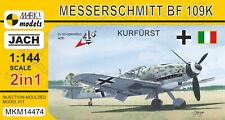 "Mark I Models 1/144 Messerschmitt Bf-109K ""Kurfurst"" (2 kits in 1 box) # 14474"