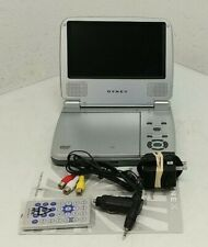 Dynex DX-PDV07A 7 INch Portable DVD Player With Remote-WORKS