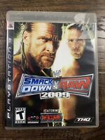 WWE SmackDown vs. Raw 2009 Featuring ECW (Sony PlayStation 3, 2008)