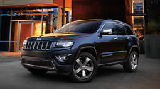 2x new cross bar roof racks for Jeep Grand Cherokee 2011 - 2019 black