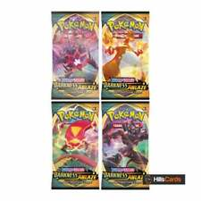 Pokemon Sword & Shield Darkness Ablaze | 4 Booster Packs | New and Sealed Cards