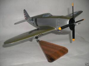 P-47 Bonnie Wood Airplane Model Plane BIG FREE SHIPPING