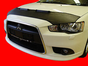 CAR HOOD BRA fit Mitsubishi Lancer X EVO since 2007  NOSE FRONT END MASK