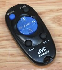 Genuine JVC (RM-RK50) Replacement Small Black Wireless Remote Control Only *READ