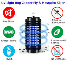 UV Bug Zapper Fly Killer Lamp Trap Insect Pest Control Catcher for Indoor Home