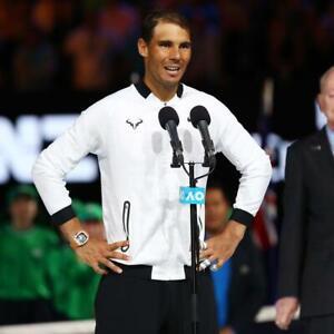 Nike Nadal Tennisjacke AUSTRALIEN OPEN 2017 *Rafael Nadal* Größe L