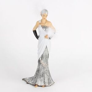 Large 1920's Art Deco Charleston Lady Figurine / Ornament.New & boxed.58309