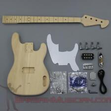 Bargain Musician - BK-008 - Unfinished Project Luthier Electric BASS Guitar Kit