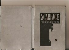 SCARFACE STEELBOOK 2 DISC COLLECTORS EDITION PLAYSTATION 2 PS2 PS 2 RATED 18